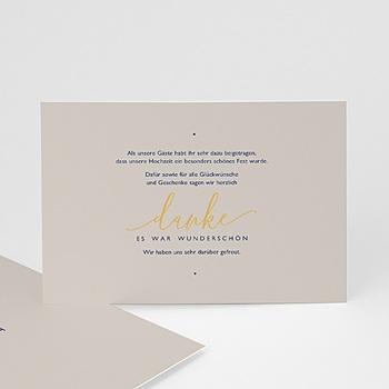 Hochzeitsdanksagungen ohne Foto - Modern Minimalist - 0