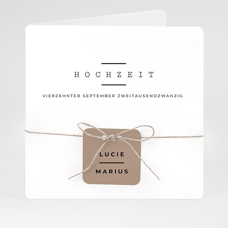 Hochzeitseinladungen Hazelnut