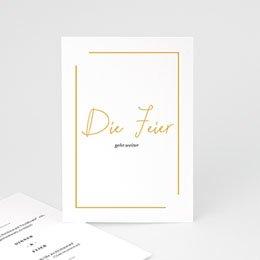 Einlegekarten Hochzeit Love Letters