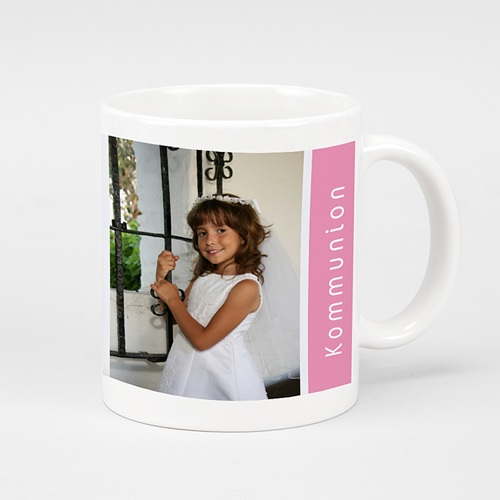 Personalisierte Fototassen Rosa Design