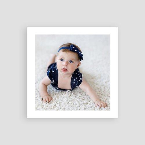 Dankeskarten Geburt für Mädchen Pastell Rosé pas cher