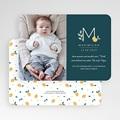 Geburtskarten für Jungen Waldgrün gratuit