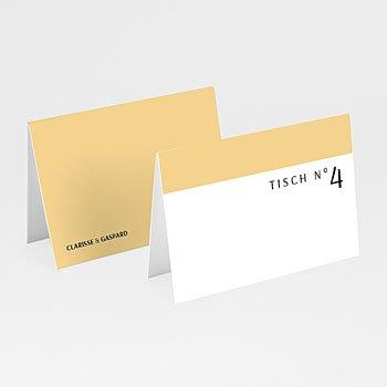 Tischkarten Hochzeit - Amber - 0