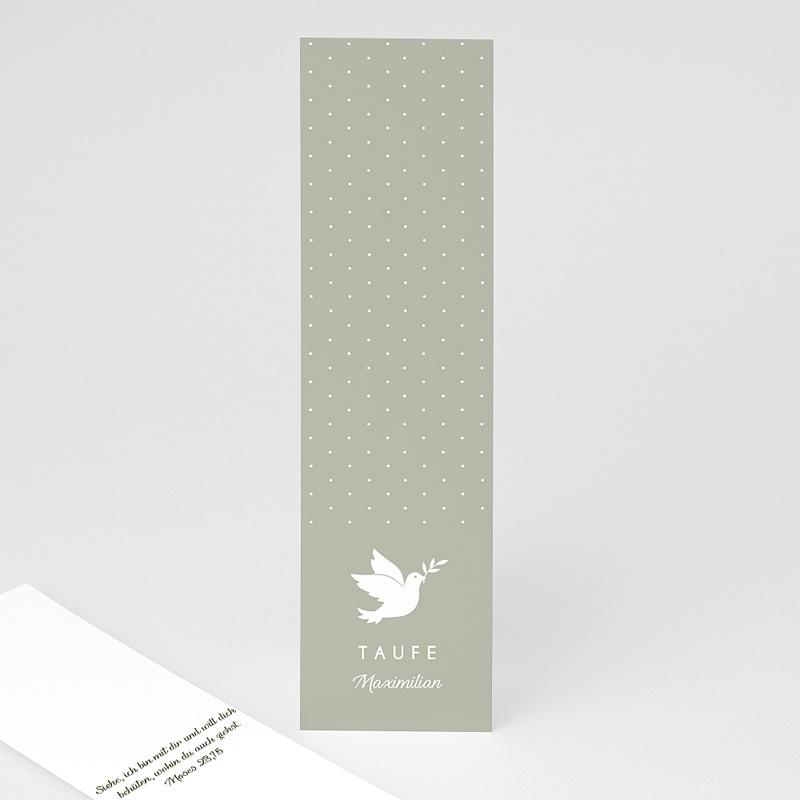 Lesezeichen Taufe Symbol Taube