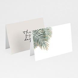 Tischkarten Hochzeit Palm Springs