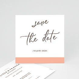 Save the date Hochzeit Color Touch