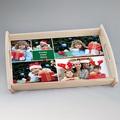 Personalisierte Foto-Tablett  Zimt