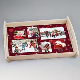 Tablett Weihnachten Kerbel