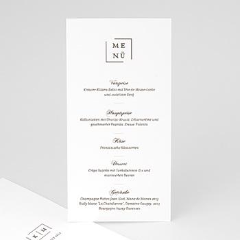 Menükarten Hochzeit - Modern Nude - 0
