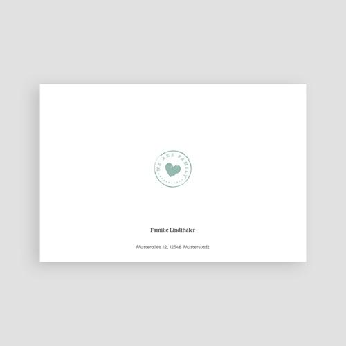 Geburtskarten für Jungen Kreidetafel Herz pas cher