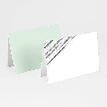 Tischkarten Hochzeit - Mint & Gold - 0