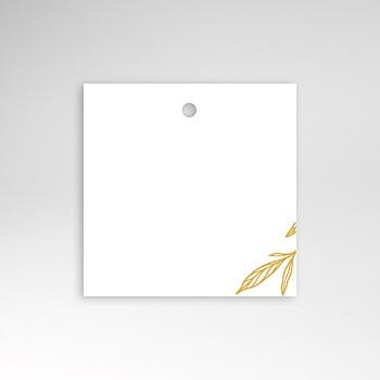 Tischkarten Hochzeit - Minimalist Botanik - 0