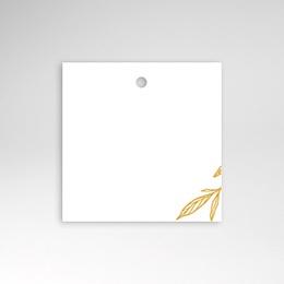 Tischkarten Hochzeit Minimalist Botanik