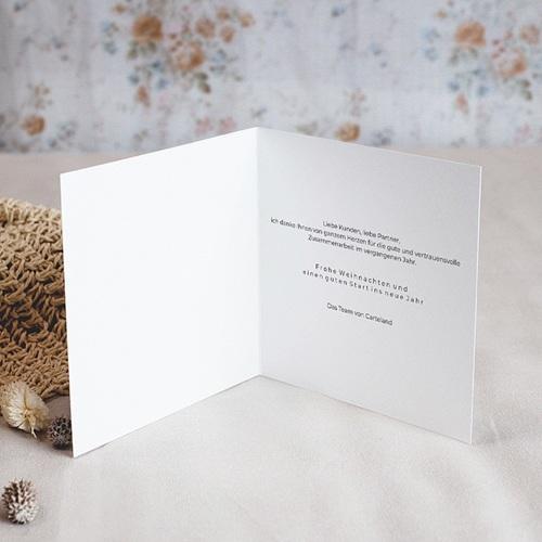 Geschäftliche Weihnachtskarten Golden Tree pas cher