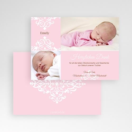 Dankeskarten Geburt Mädchen - Linnea 680 preview