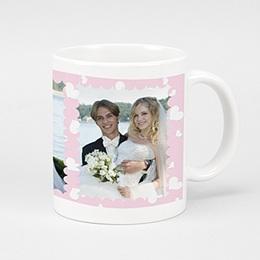 Fototassen Hochzeit Bunte Blümchen