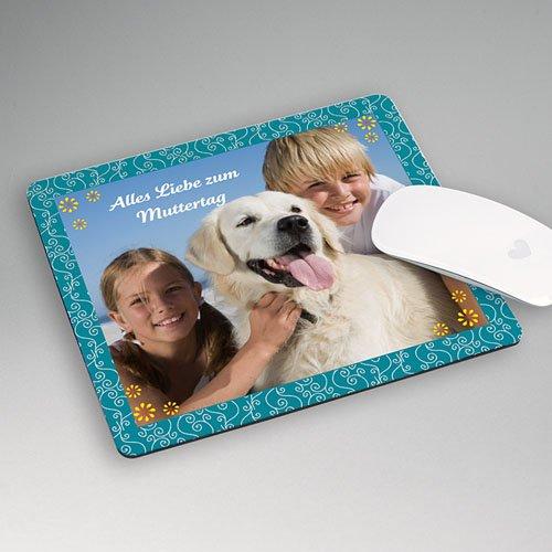 Personalisierte Foto-Mousepad Türkis