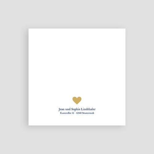 Dankeskarten Geburt für Jungen Retro Baby pas cher