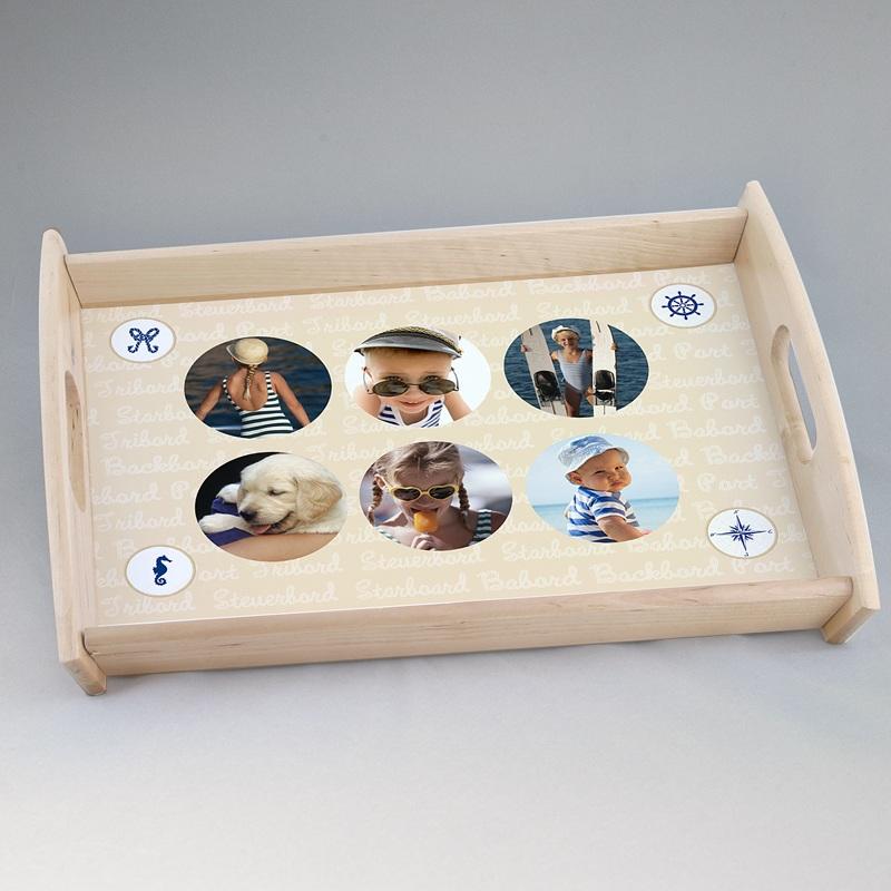 Personalisierte Foto-Tablett  Matrose