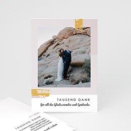 Danksagungskarten Hochzeit Rose Quarz
