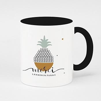 Zweifarbtasse - Ananas - 0