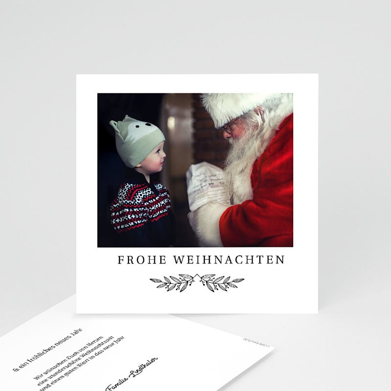 Neujahrskarten Retro Christmas