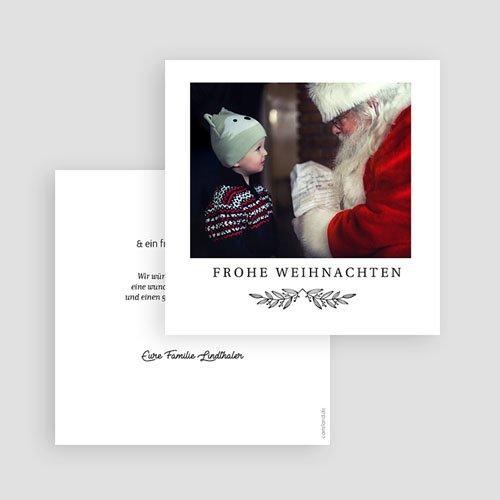 Neujahrskarten Retro Christmas gratuit