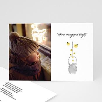 Weihnachtskarten - Merry & Bright - 0
