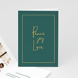 Voeux Pro Nouvel An Peace Joy Love