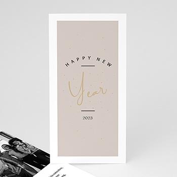 Weihnachtskarten - Goldenes Jahr - 0