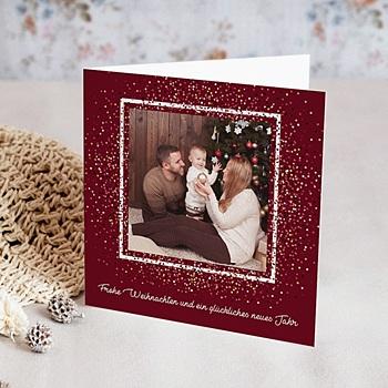 Religiöse Weihnachtskarten.Weihnachtszauber