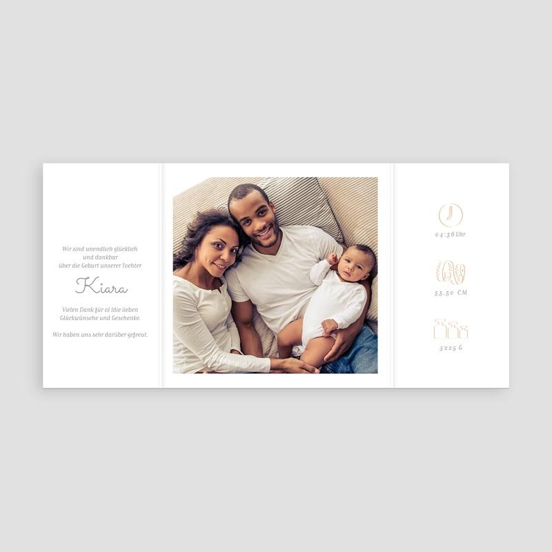 Geburtskarten für Mädchen Windräder rosa pas cher