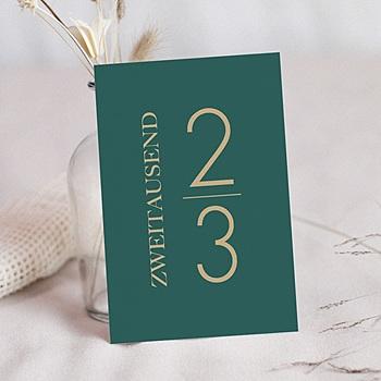 Weihnachtskarten - Tannengrün - 0