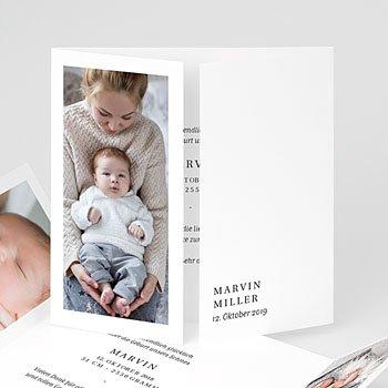 Geburtskarten für Mädchen - Welcome Baby - 0