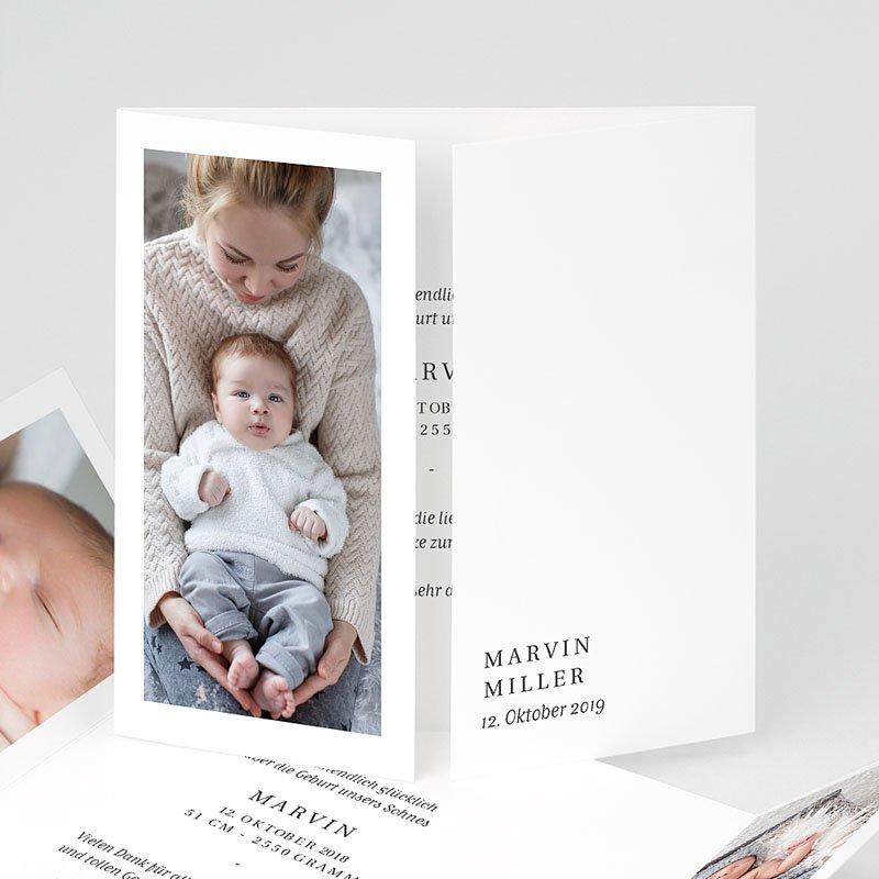 Geburtskarten für Mädchen Welcome Baby