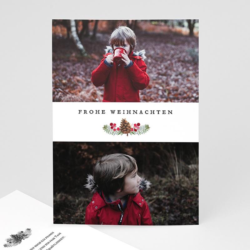 Weihnachtskarten - Tanne & Mistel 68519 thumb