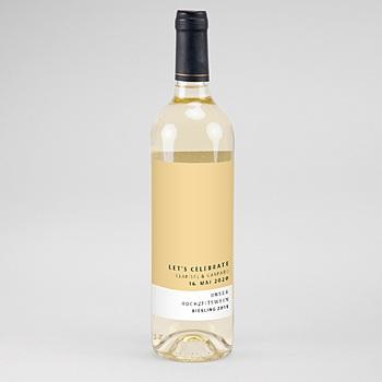 Flaschenetiketten Wein Amber