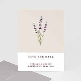 Save The Date  Lavendel