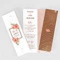 Hochzeitseinladungen Rose Chic & Holz