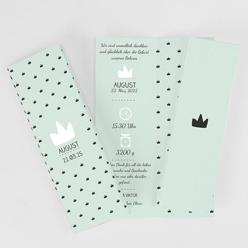 Geburtskarten für Jungen Kleiner König