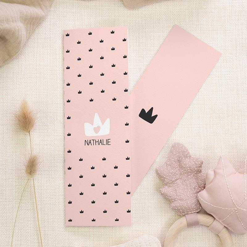 Geburtskarten für Mädchen - Kleine Königin 68756 thumb