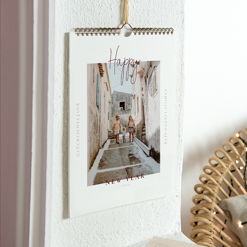 Wandkalender 2019 - Happy New Year 68869 thumb