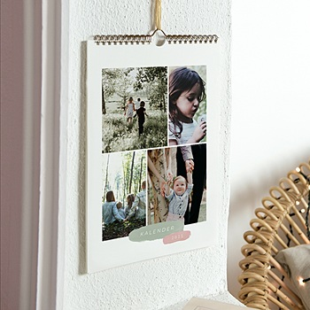 Wandkalender 2020 - Pinsel Pastell - 0