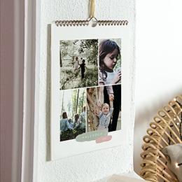 Wandkalender - Pinsel Pastell - 0