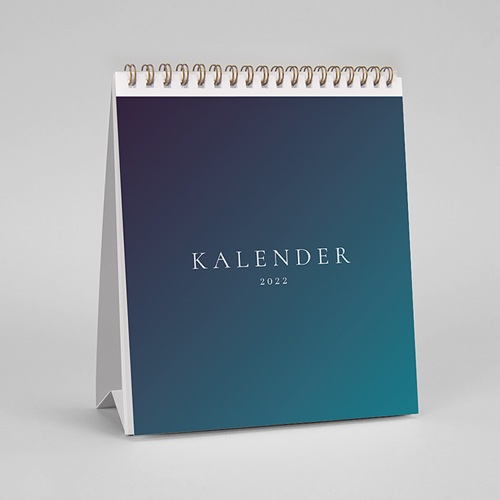 Tischkalender Farbverläufe pas cher