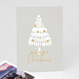 Neujahr Nouvel An Weisser Tannenbaum