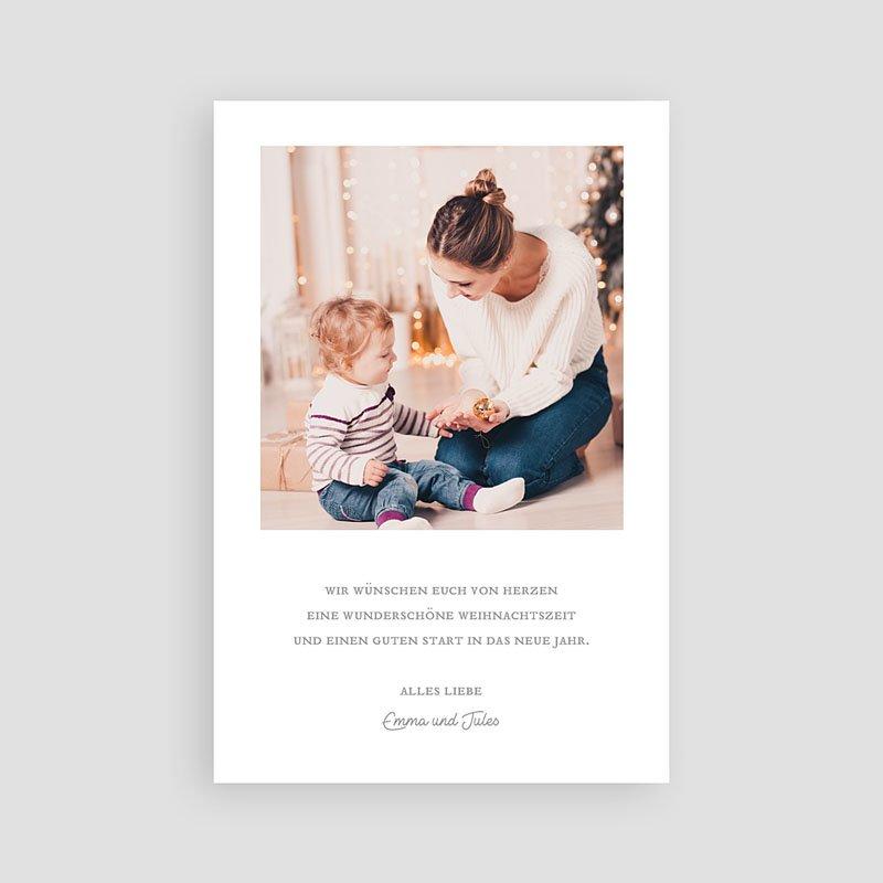 Weihnachtskarten - Haus im Schnee 68945 thumb