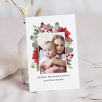Weihnachtskarten - Blooming - 0