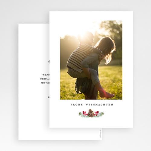 Weihnachtskarten Mistelzweig gratuit