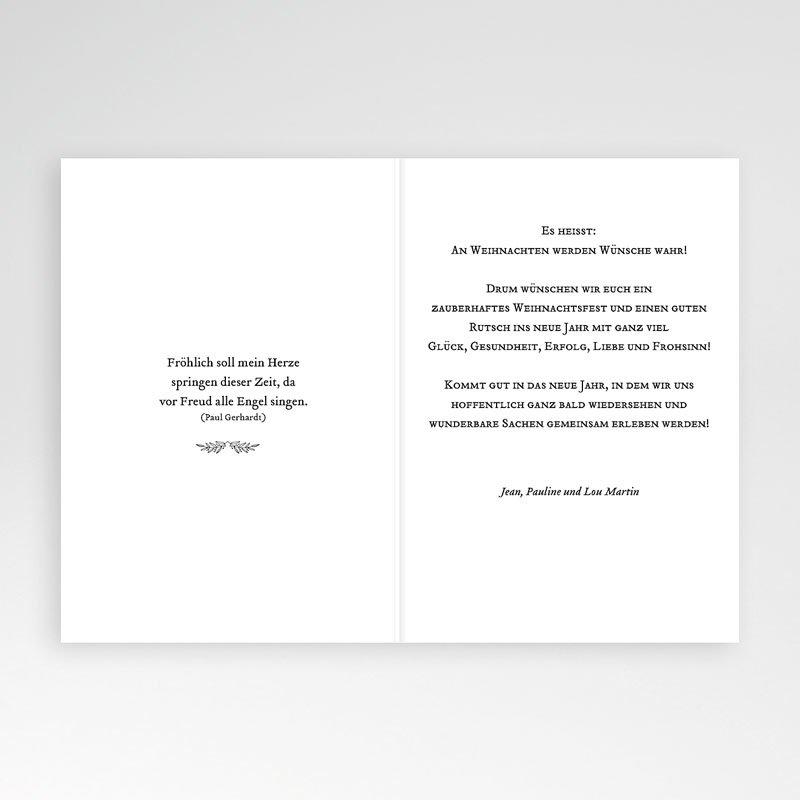Weihnachtskarten - Goldzweig 68972 thumb